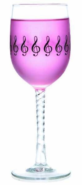 Sol Anahtarlı Şarap Bardağı