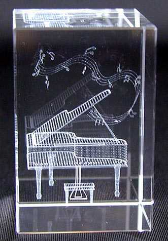 Kuyruklu Piyano Kristal