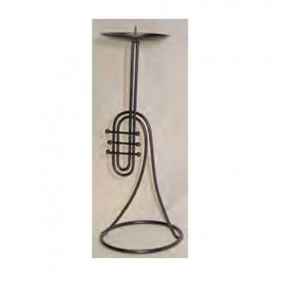 Trompet Şeklinde Mumluk
