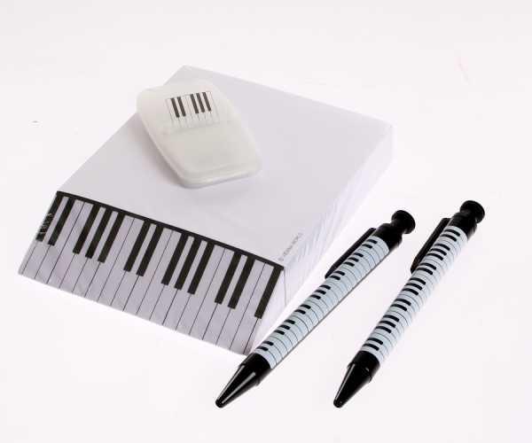Piyano Tuşeli Kırtasiye Seti