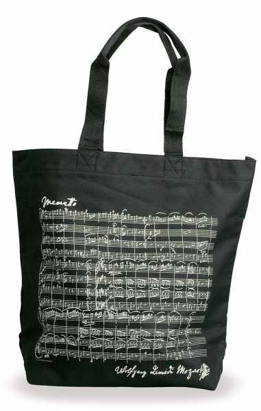 Mozart Notalı ve İmzalı Çanta